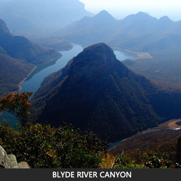 Blyde River Canyon.