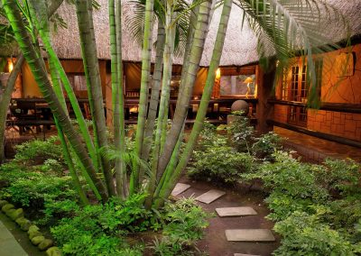 piccolo giardinetto nella struttura